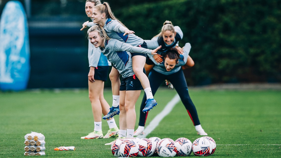 Training: Ready to kick off the Conti Cup