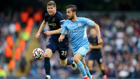 Bernardo: 'We have an amazing squad'