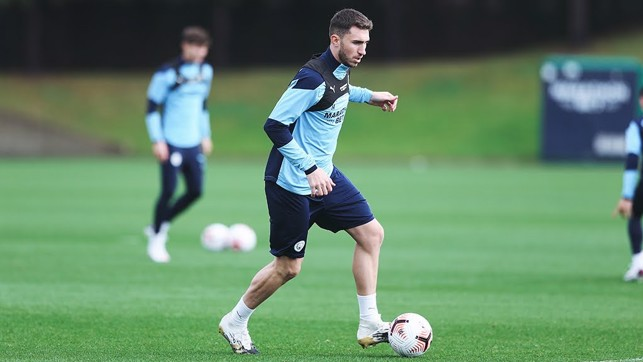 : Laporte on the ball