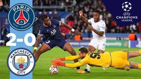 Match highlights: PSG v City