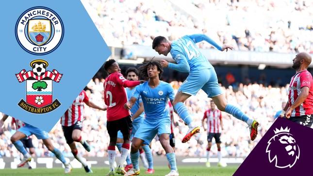 Full-match replay: City v Southampton