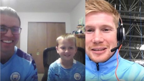 Cityzens Giving for Recovery auction winners meet Manchester City stars