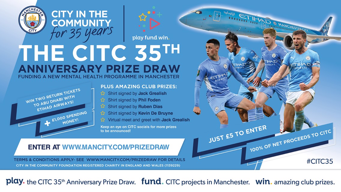 Win big in the CITC 35 prize draw!