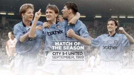 Match of the Season: City 5-1 United 1989