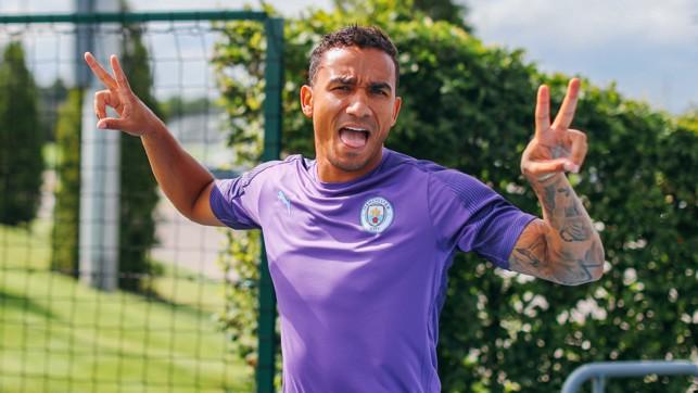 BRAZIL NUT : Danilo plays up to the camera!