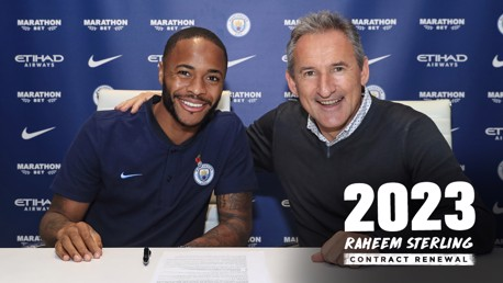 DONE DEAL: Raheem has penned a new City contract