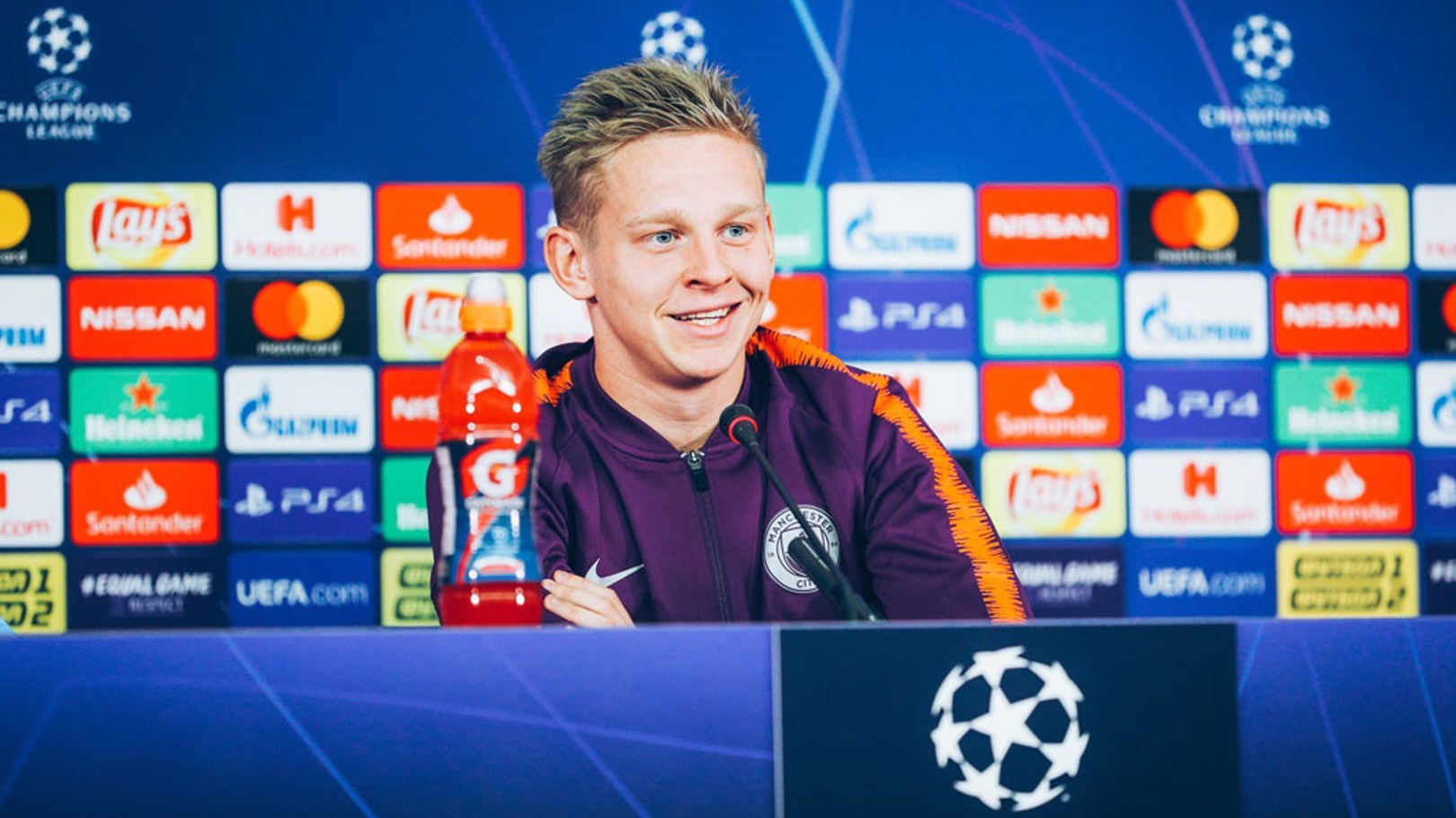 Zinchenko looking for a happy homecoming