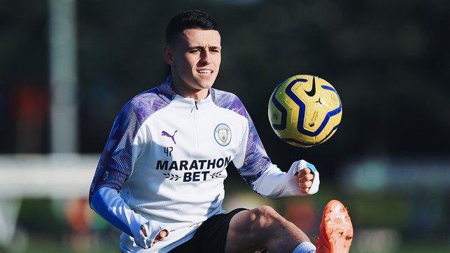 FODEN FOCUS : Is Phil making the ball actually hover?