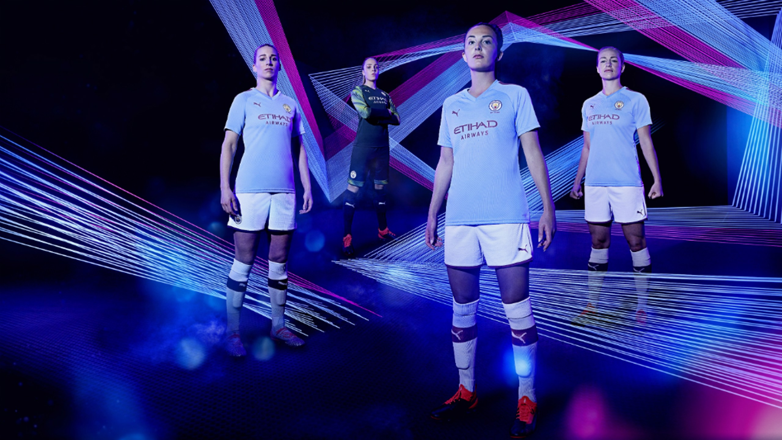 DOUBLE WINNING: City's women's team will look to mark the kits' debut campaign with more silverware, having secured the FA Cup and Continental Cup last season.