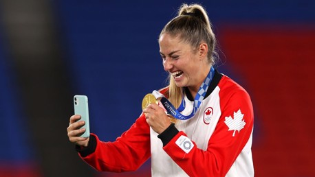 Janine Beckie: Olympic gold a childhood dream come true