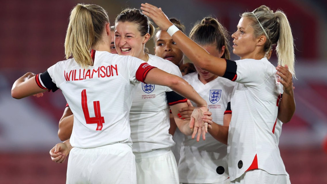 White and Greenwood at the double as Lionesses run riot