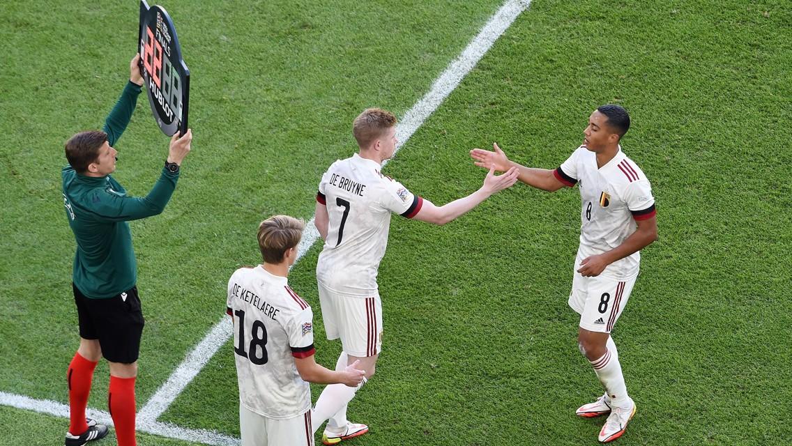 دي بروين يصنع هدفا وبلجيكا تخسر المركز الثالث أمام إيطاليا