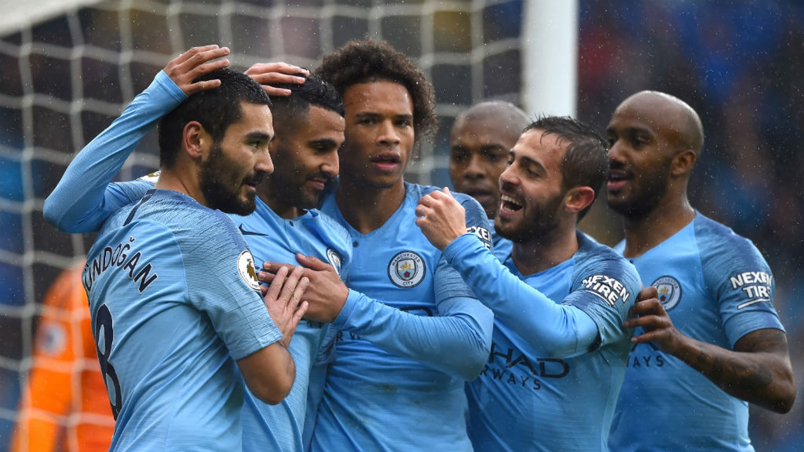 THAT'S MORE LIKE IT: City celebrate