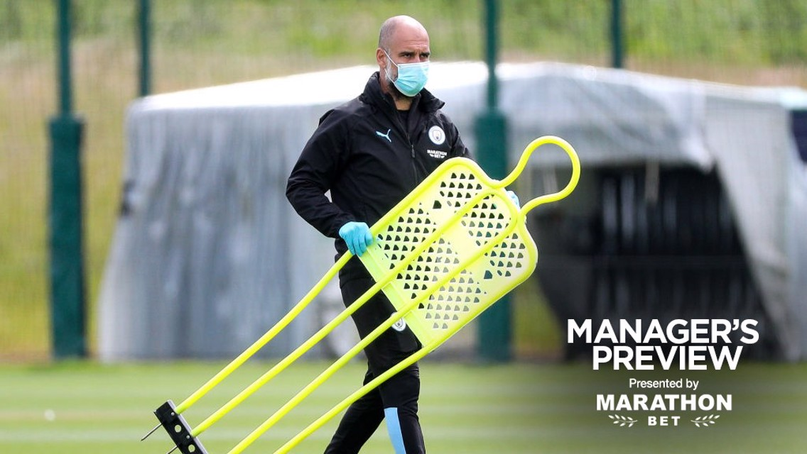 Pep Guardiola seeing signs of improvement