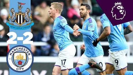 Newcastle v City Premier League Full match replay