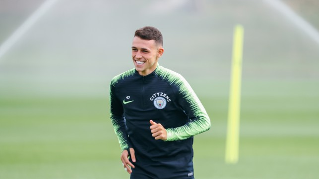 PHIL OF THE FUTURE : Will Phil Foden earn more Premier League minutes on Sunday?