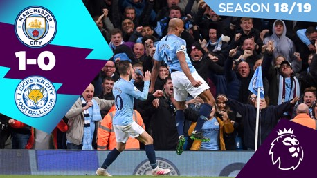 Classic highlights: City 1-0 Leicester