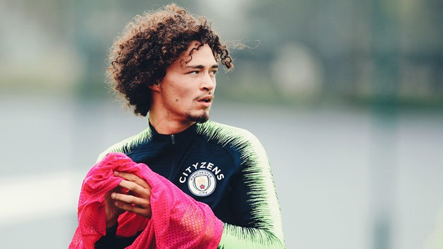 ACTION STATIONS : Philippe Sandler prepares for another drill