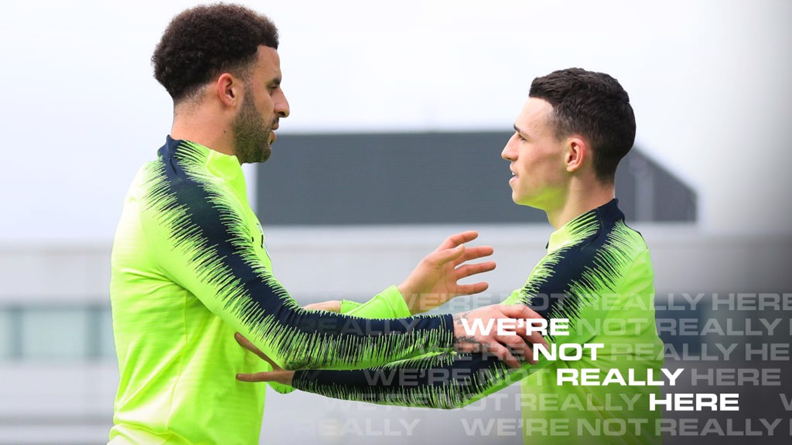 Kyle Walker: Phil Foden is the best young player I've seen