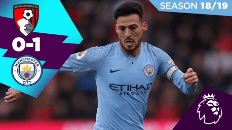 Bournemouth 0-1 City: Full match replay 2018/19