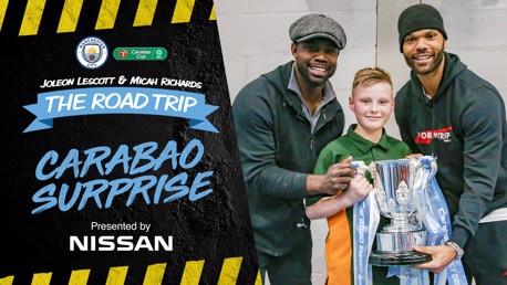 Nissan Road Trip | Surprising the Mascot