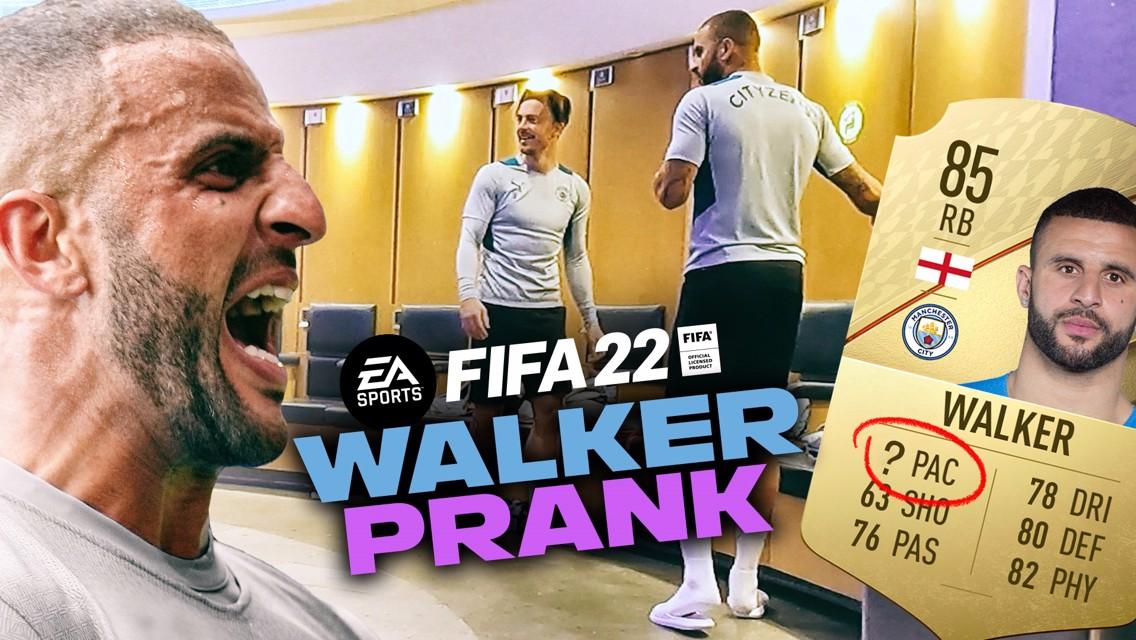 FIFA22 능력치로 카일 워커에게 장난치기!
