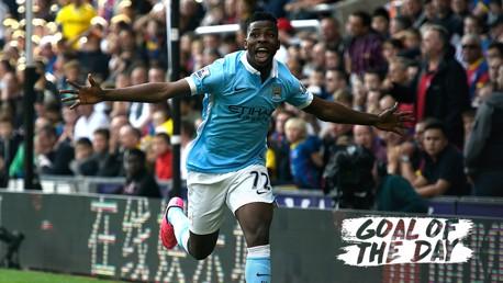 GOTD: Iheanacho v Crystal Palace