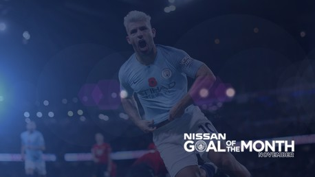 Nissan Goal of the Month: November vote now open!