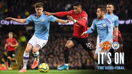 MANCHESTER DERBY: The rivalry resumes.