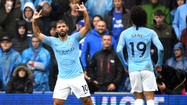 ATTACKING POWER : Sergio Aguero and Leroy Sane