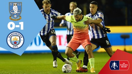 Sheffield Wednesday 0-1 City: Full match replay