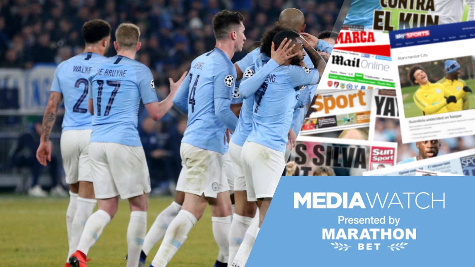 MEDIA WATCH: City's performance in Germany has garnered praise