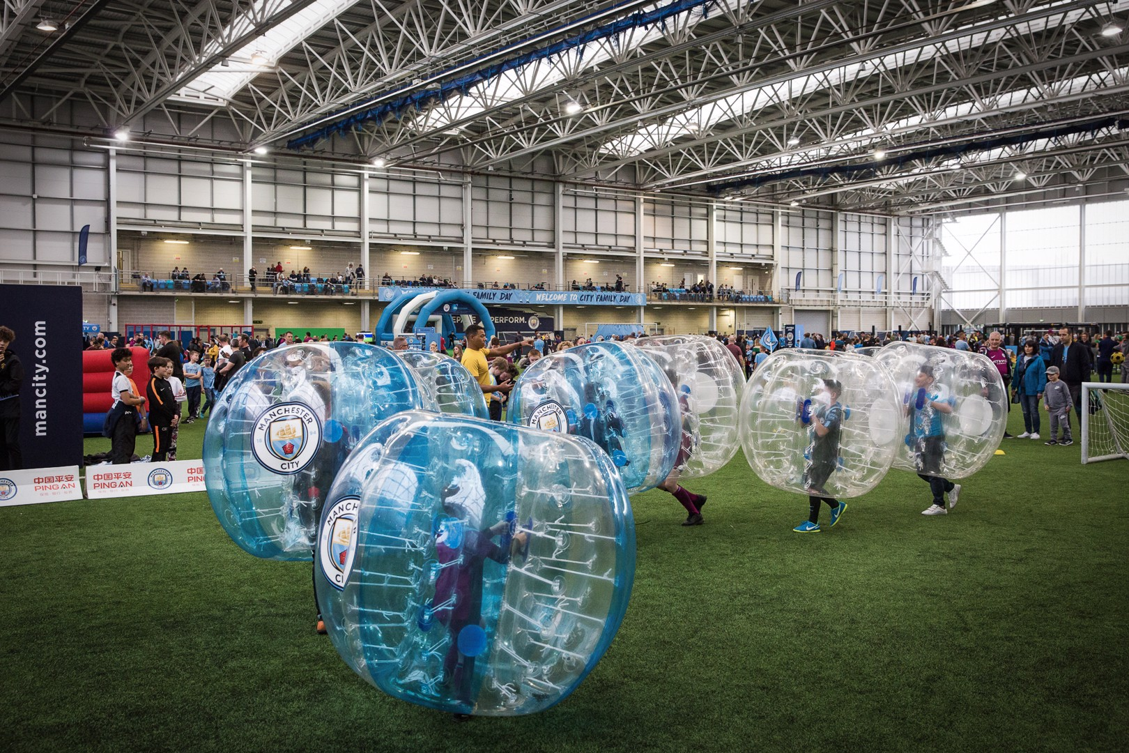 Kids fanzone for Chelsea double header