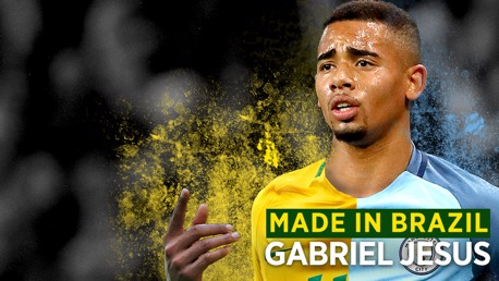 BALLON D'OR?: Gabriel Jesus has been tipped to become one of the greatest players in world football