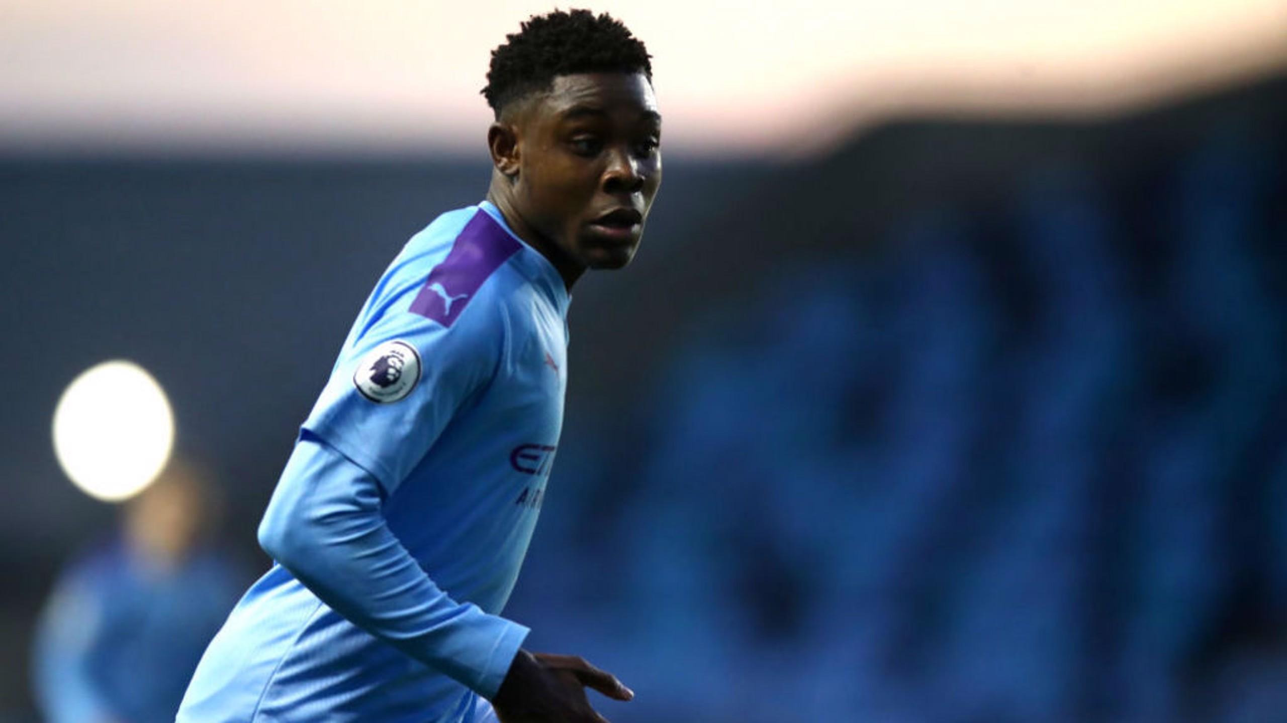 DANGER-MAN: Dele-Bashiru was a constant threat at the University of Bolton Stadium.