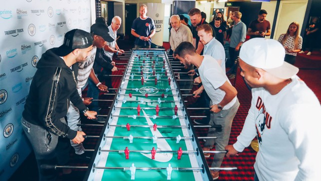 TABLE TOPPING : The longest game of table football ever?!