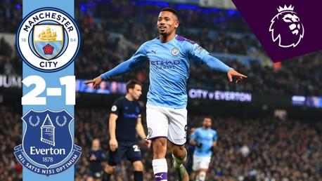 City v Everton Premier League Full match replay