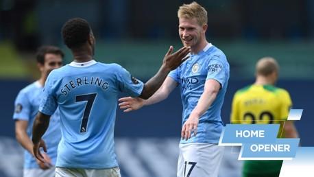City v Norwich: Top 5 goals