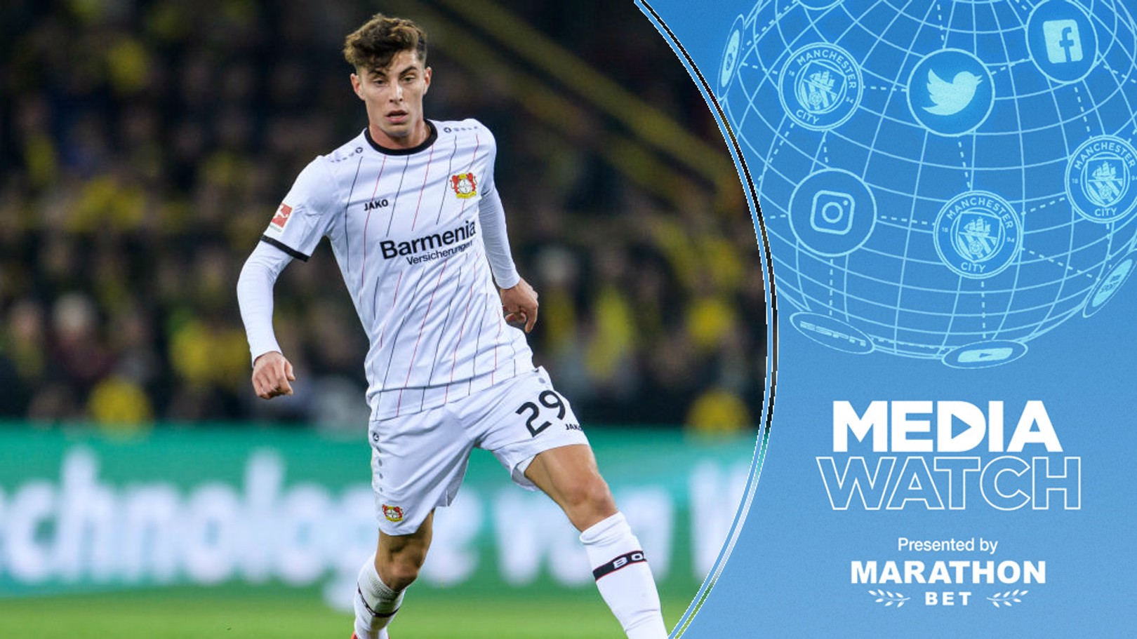 RUMOURS: City have been linked with Kai Havertz.