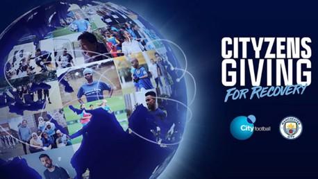 MERCI! Plus de 575 000£ récoltées pour les projets de Cityzens Giving for Recovery