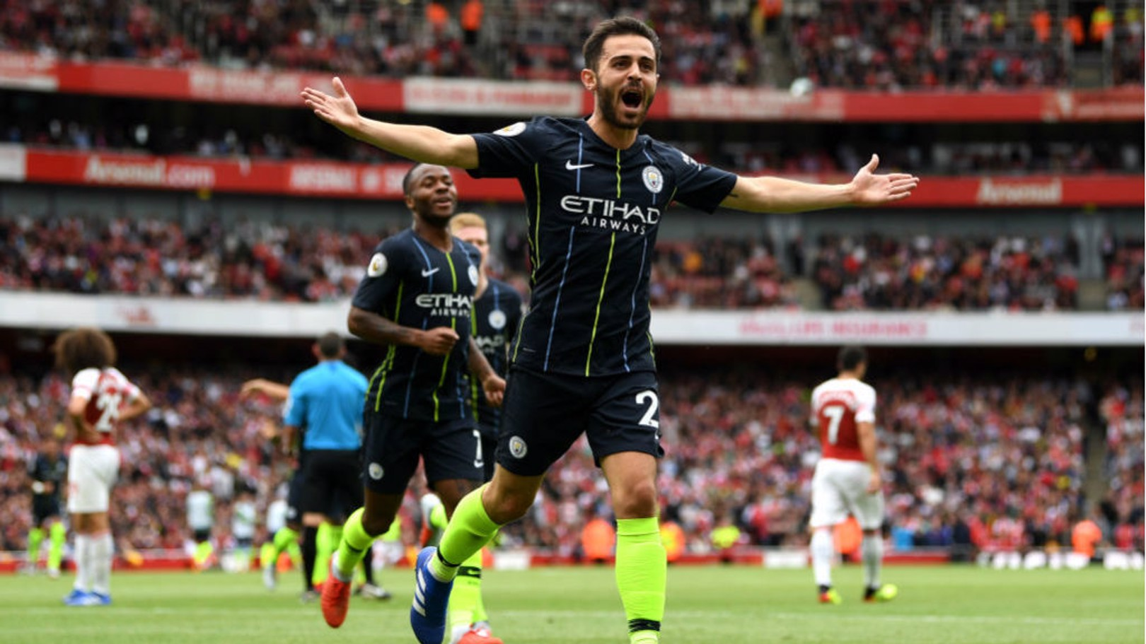 SILVA STREAK: Bernardo has made a superb start to the new season with Manchester City