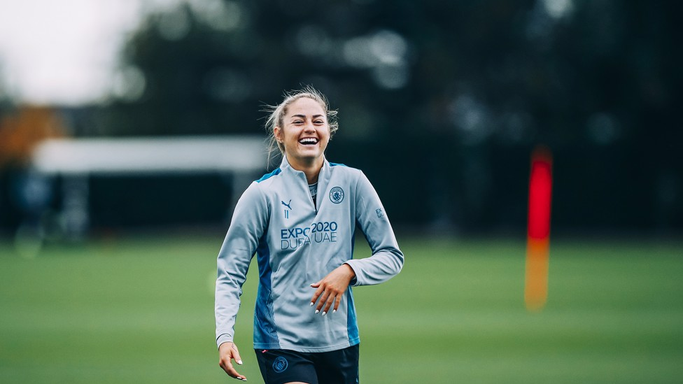CUP DREAMS : Janine Beckie scored the winning penalty in our 2019 Conti Cup shoot-out success