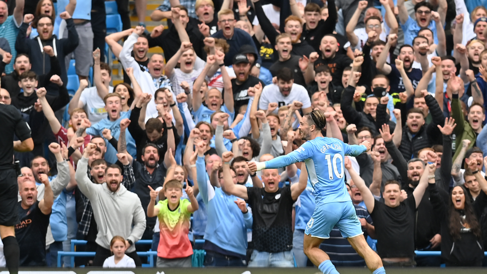 LOVE AT FIRST SIGHT : Seems you loved Jack's first City goal almost as much as we did.