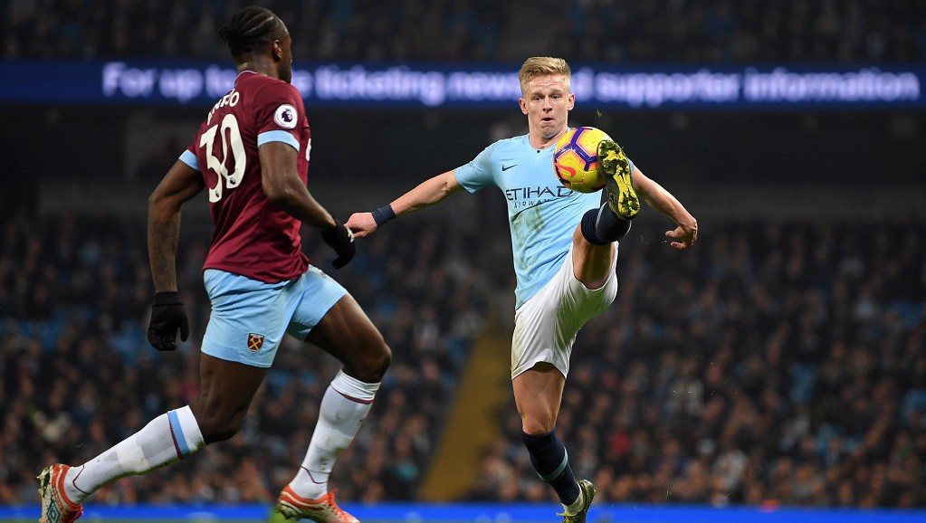 POLISHED : Another impressive outing for Oleks Zinchenko v West Ham
