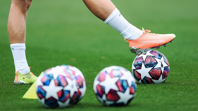 STARS IN THEIR EYES : The Champions League balls