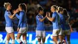 BLUE-HOT BREMER: Pauline Bremer continued her excellent scoring streak against Everton