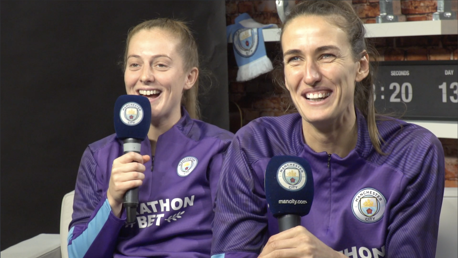 FUNNY: Keira Walsh and Jill Scott try their hand at commentary
