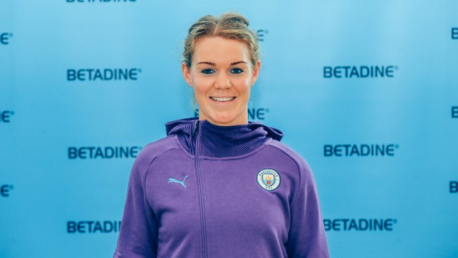 HERITAGE : Mannion believes her background within Gaelic football prepared her physically and mentally for top flight women's football