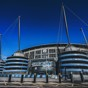 BLUE FOR YOU: Another stunning exterior shot of the Etihad
