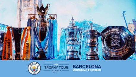 INCOMING: City's trophy tour is heading to Spain.